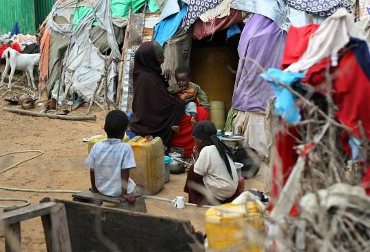 somalische Familie