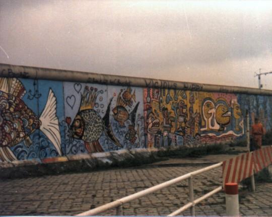 Die berliner mauer im august 1985 karle horn