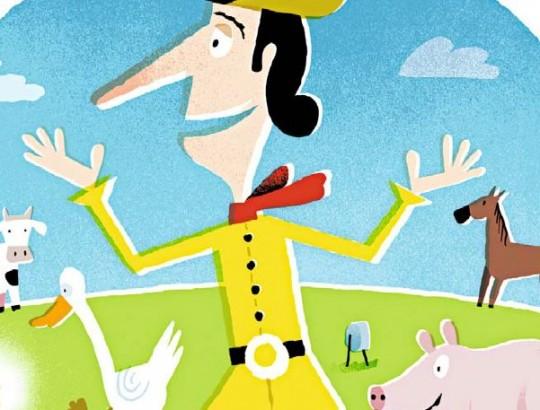 Illustration: Gert Albrecht für DIE ZEIT/www.gertalbrecht.de Text: aus »Jakob und Wilhelm Grimm: Ausgewählte Kinder- und Hausmärchen«, Philipp Reclam jun. GmbH & Co., Stuttgart 1981