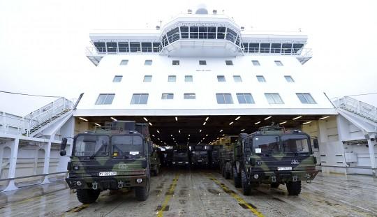 Schutz für den NATO-Partner Türkei: Das deutsche Raketen-Abwehrsystem wird ausgeladen/ © Getty Images