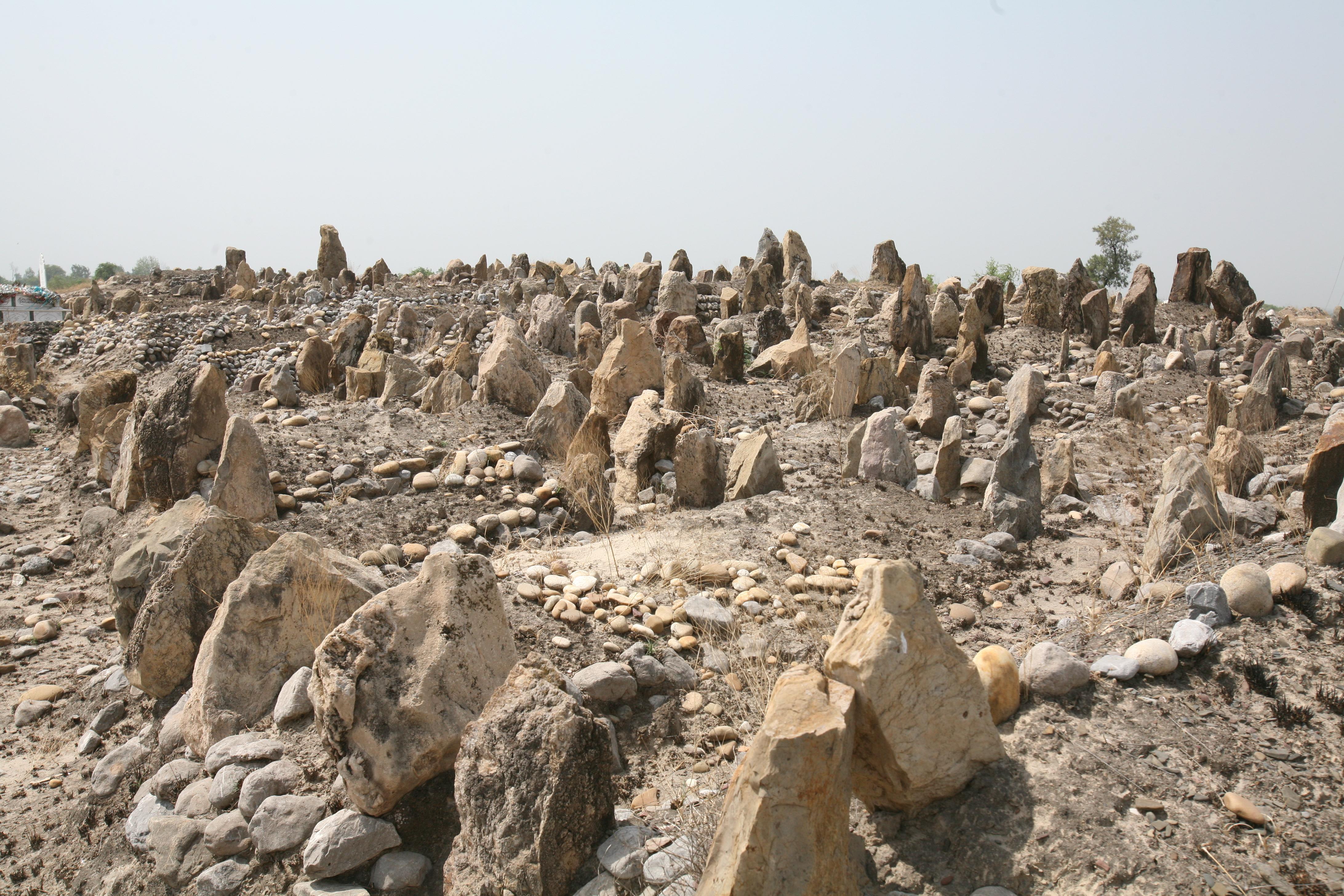 Friedhof afghanischer Flüchtlinge