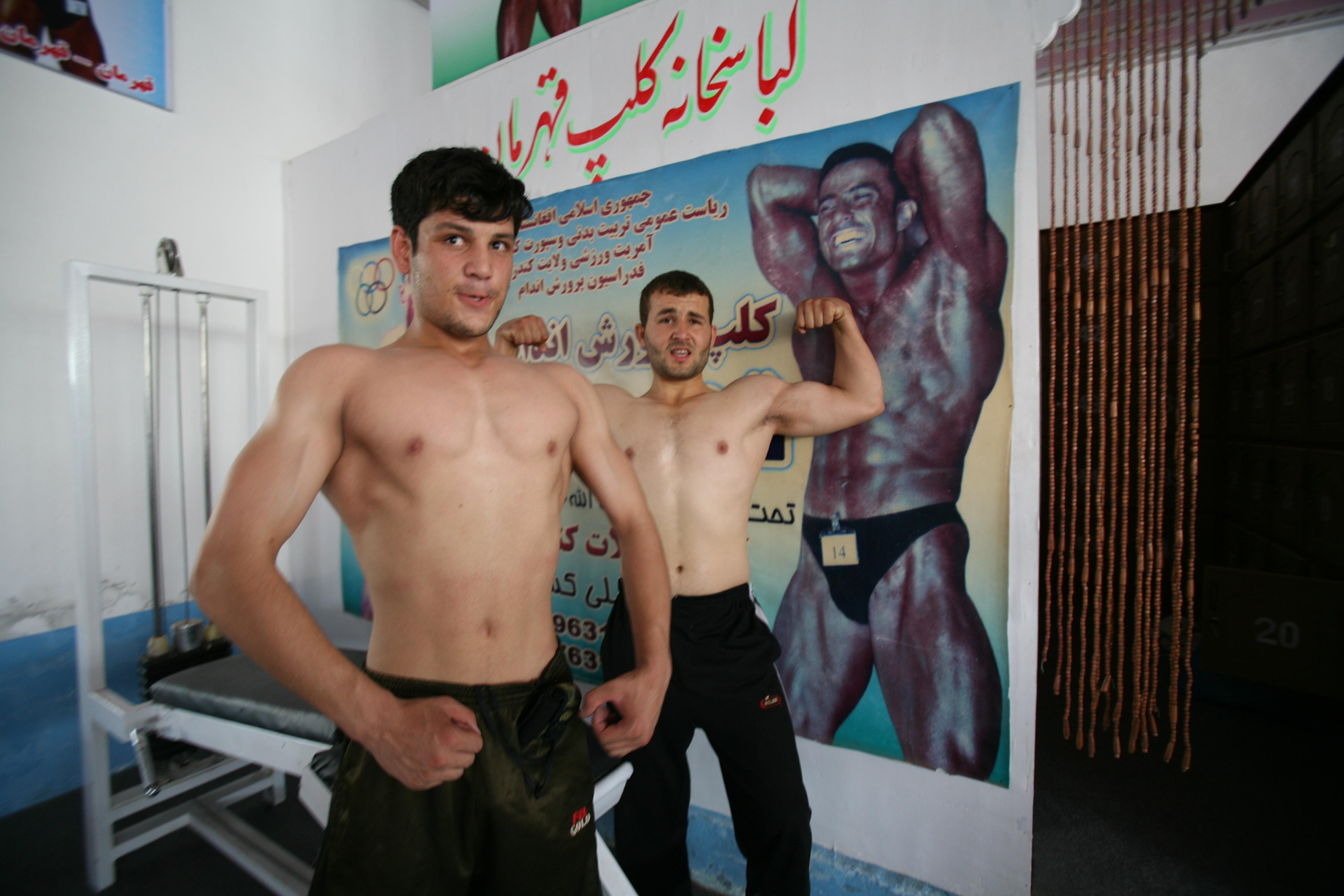 Body builder in Kundus