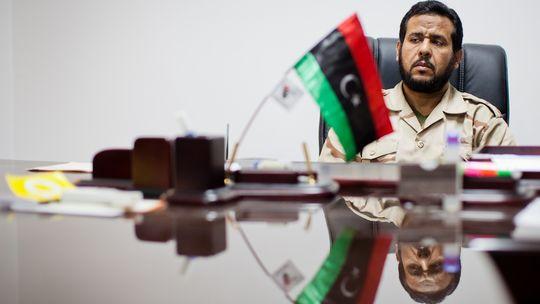 Abul Hakim Belhaj (c) Daniel Berehulak/Getty Images