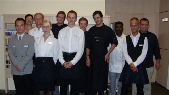 Die Mannschaft des Benefiz Abends im NH Hotel