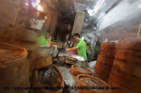 Die Küche des Tim Ho Wan