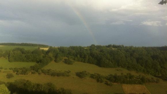 Regenbogen gegenüber der Ausheckhütte (1 von 1)