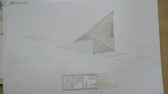 Idee Ausheck-Hütte II (1 von 1)