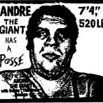 """""""André the Giant has a Posse"""" von Shepard Fairey"""