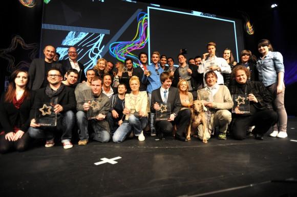 Die Gewinner des Webvideopreis 2013 (Bild:  Christof Wolff / CC BY 2.0)
