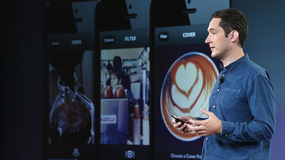 Instagram CEO Kevin Systrom (© Justin Sullivan/Getty Images)