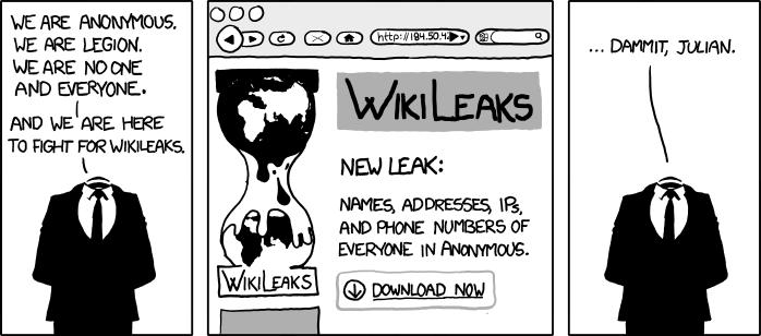 Wikileaks (Bild: xkcd / CC BY-NC 2.5)