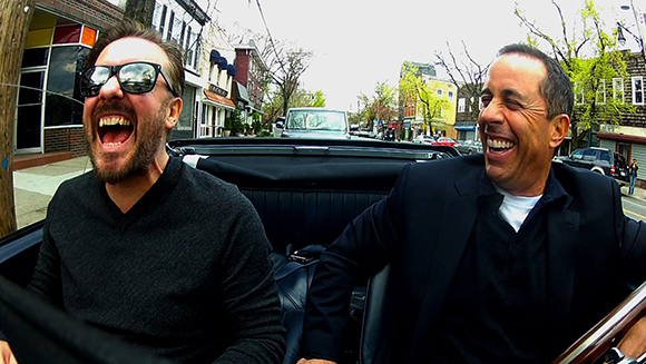 Jerry Seinfeld (r.) mit Ricky Gervais (© Crackle)