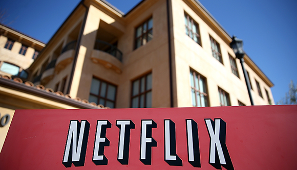 Die Netflix-Zentrale in Los Gatos (© Justin Sullivan/Getty Images)