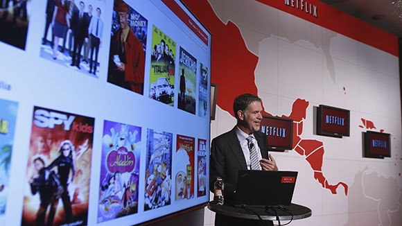 Netflix-CEO Reed Hastings (Archivbild © Getty Images)