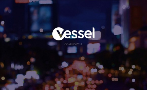 Screenshot der Vessel-Website