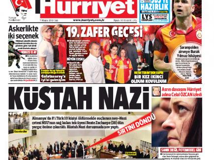 Hürriyet 7. Mai 2013