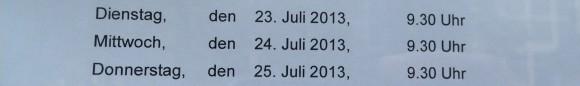 23.-25. Juli
