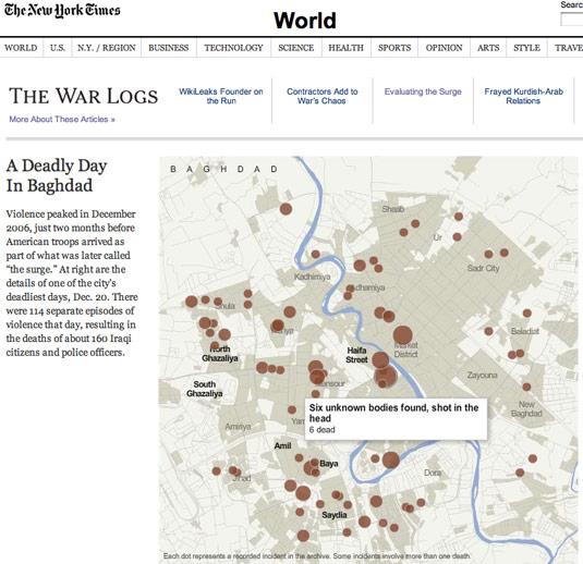 Warlogs Iraq NYT 1