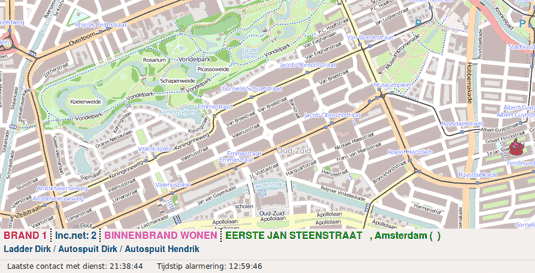 Open Data Feuerwehr Karte