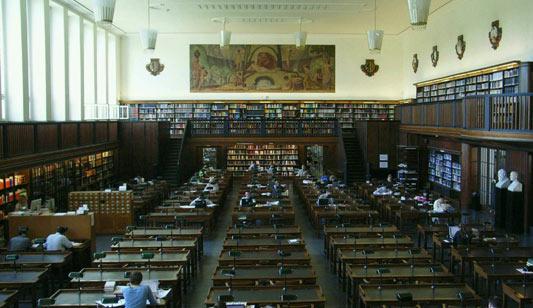 lesesaal deutsche bibliothek leipzig
