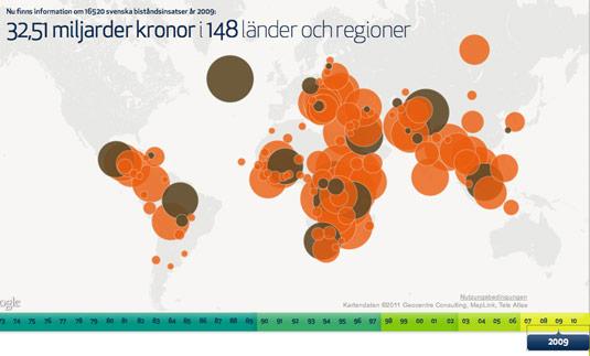 Schweden Entwicklungshilfe Gelder
