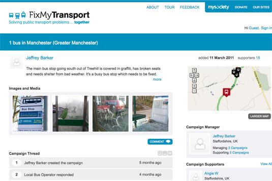 Fix My Transport mySociety