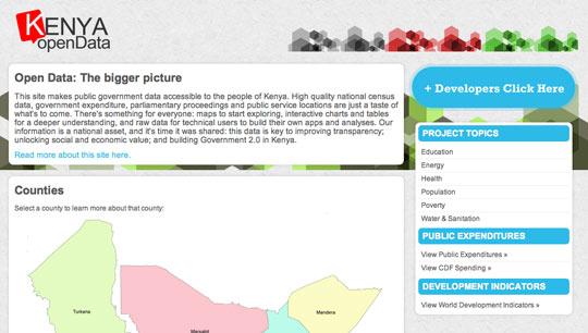 Open Data Portal Kenia