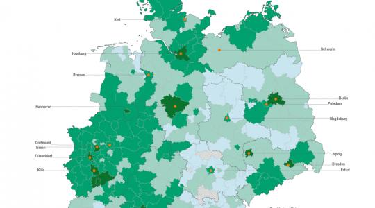 internetabdeckung deutschland karte Wo das deutsche Interwohnt   Data Blog