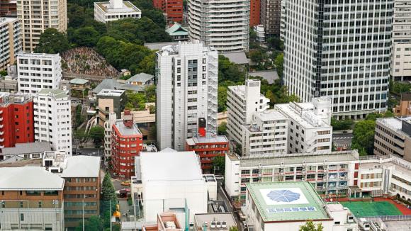 Ausschnitt aus dem Tokio-Panorama von Jeffrey Martin