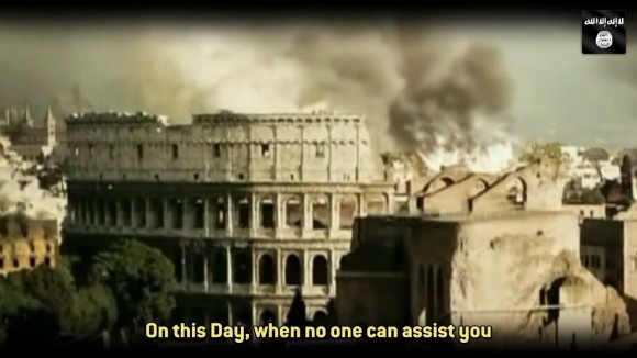 "Screenshot aus dem Video von ""Abu Talha al-Almani"" alias Denis Cuspert"