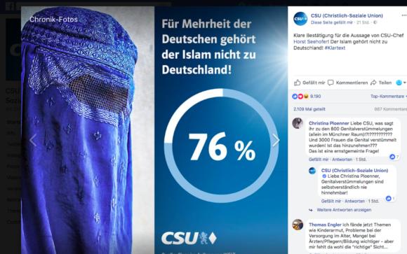 Die CSU braucht Islamnachhilfe. Dringend. - Radikale Ansichten