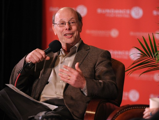 "PARK CITY, UT - JANUARY 27:  President of the Center for Constitutional Rights Michael Ratner speaks at ""Saving Deomcracy, One Story at a Time"" during the 2010 Sundance Film Festival at Filmmaker Lodge on January 27, 2010 in Park City, Utah.  (Photo by George Pimentel/Getty Images)"