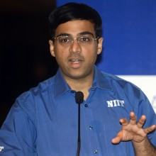 Vishy Anand –– Raveendran/AFP/Getty Images