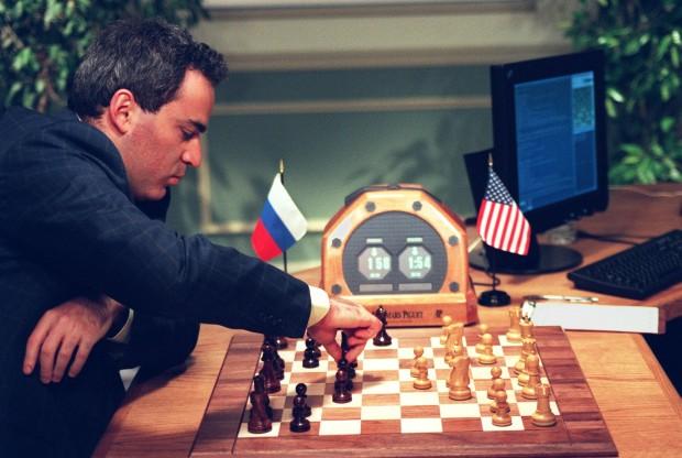Als Deep Blue das Genie Garri Kasparow schlug