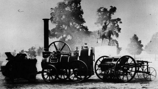 Industrialisierung: Dampfmaschine England 1851