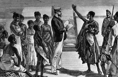 Kolonialismus Sklaven