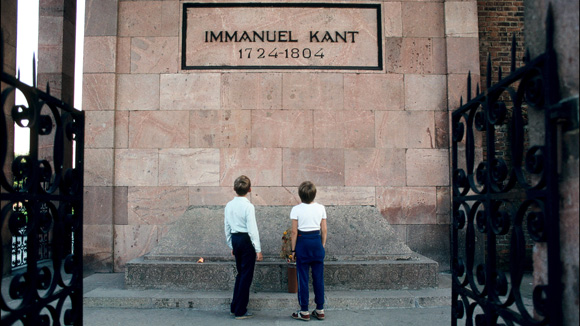 Grab von Immanuel Kant, Kaliningrad 1991