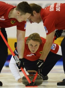 Deutsches Curlingteam um John Jahr (Getty Images Sport)