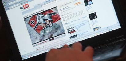 Keine Seltenheit - Nazivideos auf Youtube   © Getty Images