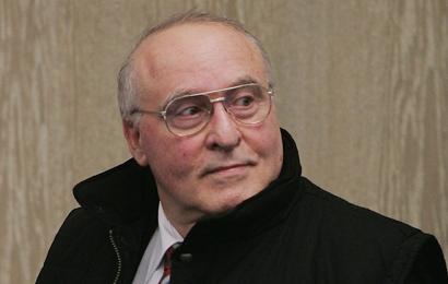 Rechtsextremist Zündel bei seinem Gerichtsprozess 2005 in Mannheim   Foto: Getty