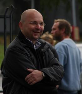 Umstritten: NPD-Spitzenkandidat Matthias Heyder