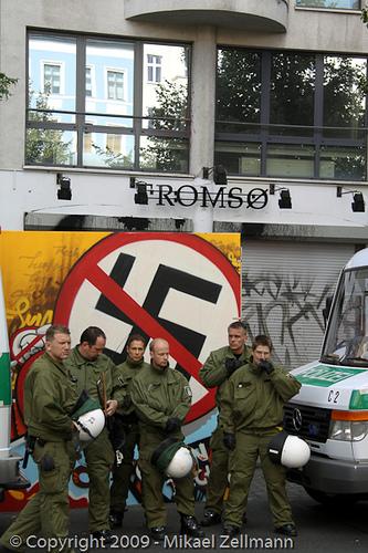 Eines von zwei Thor Steinar-Geschäften in Berlin