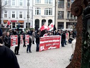NPD-Kundgebung hamburg 12.2.2011