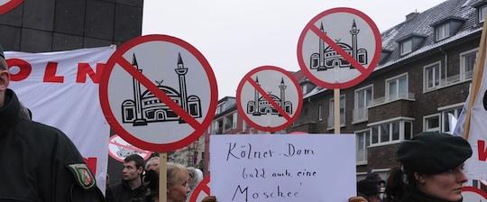 Pro Köln-Aufmarsch im Februar 2011 in Köln-Ehrenfeld © Getty