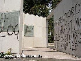 Schmierereien 2005 (Quelle: http://www.nordhausen.de)