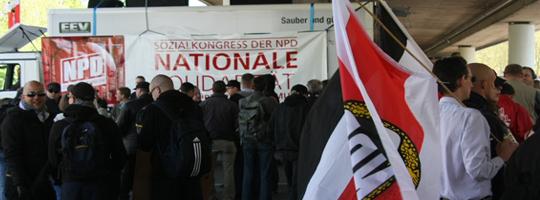 """""""Sozialkongress"""" der NPD in Bremen"""