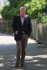 Bisheriger NPD-Landesvorsitzender Adolf Dammann, Foto Kai Budler