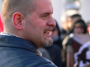 Mehrfach vorbestrafter NPD-Politiker Thorsten Heise, Foto: Kai Budler