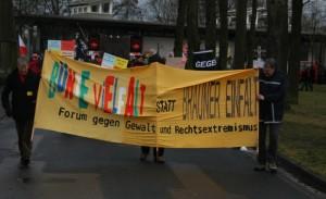 Bündnisdemonstration gegen den Nahtz-Hof, Foto: Kai Budler