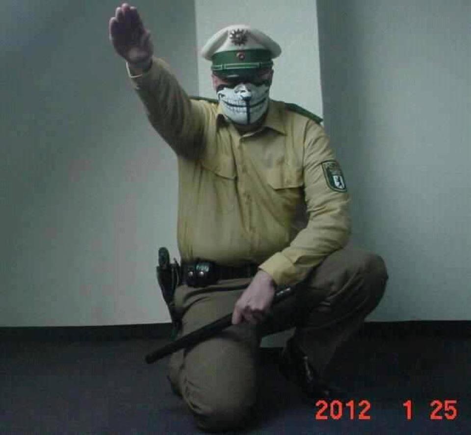 Nazi Polizist